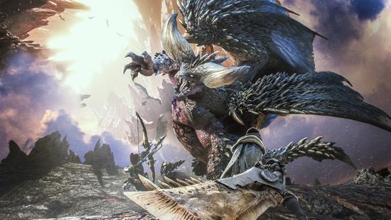 《怪物猎人:世界》:灭尽龙竟然变身托马斯小火车