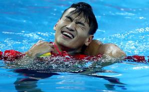 短池世锦赛-徐嘉余获100米仰泳银牌
