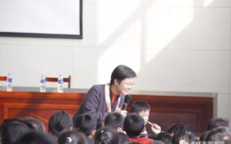 讲座现场 ▎澴川文化大讲堂2018年第十六期走进学校