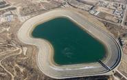 水利设施渗漏灌满人工湖