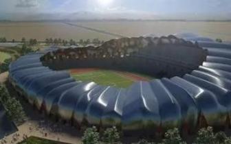 大同体育中心工程整体进入收尾阶段 计划年内完工