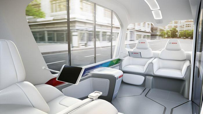明年CES亮相 博世将推自动驾驶电动接驳车