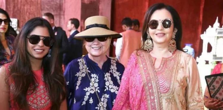 亚洲首富嫁女:请来希拉里碧昂丝 婚礼要花7个亿