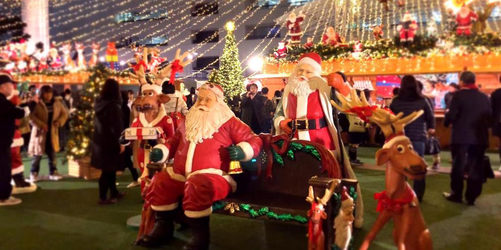 日本现场:九州福冈圣诞集市嗨起来!