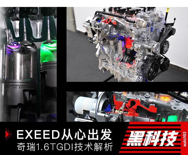 搭载EXEED星途 奇瑞1.6TGDI发动机技术解析