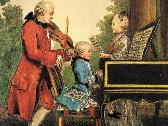 """别再迷信""""莫扎特效应"""" 找对了胎教方式宝宝就是莫扎特本人!"""