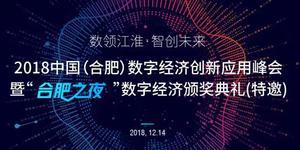 2018中国(合肥)数字经济创新应用峰会
