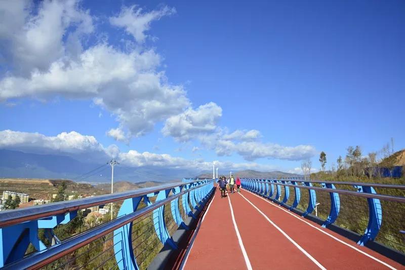大理最美空中自行车栈道预计年底完工