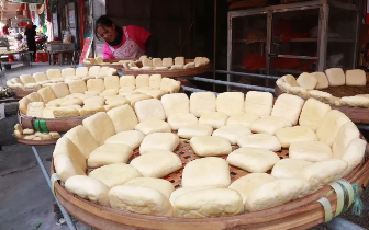 南口美食黄皮豆干:外表金黄 内藏白玉