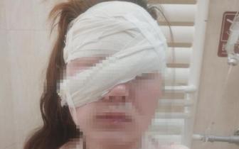 护士被精神病人毁容申报工伤遭拒 院方:为啥就伤你