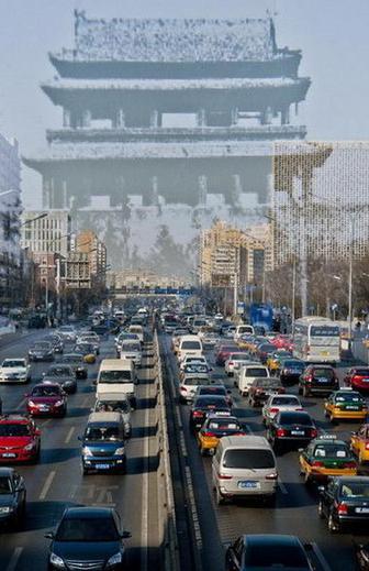 消失的老北京城门:两个时代的速度