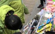 文具店抽奖奖品含电子烟