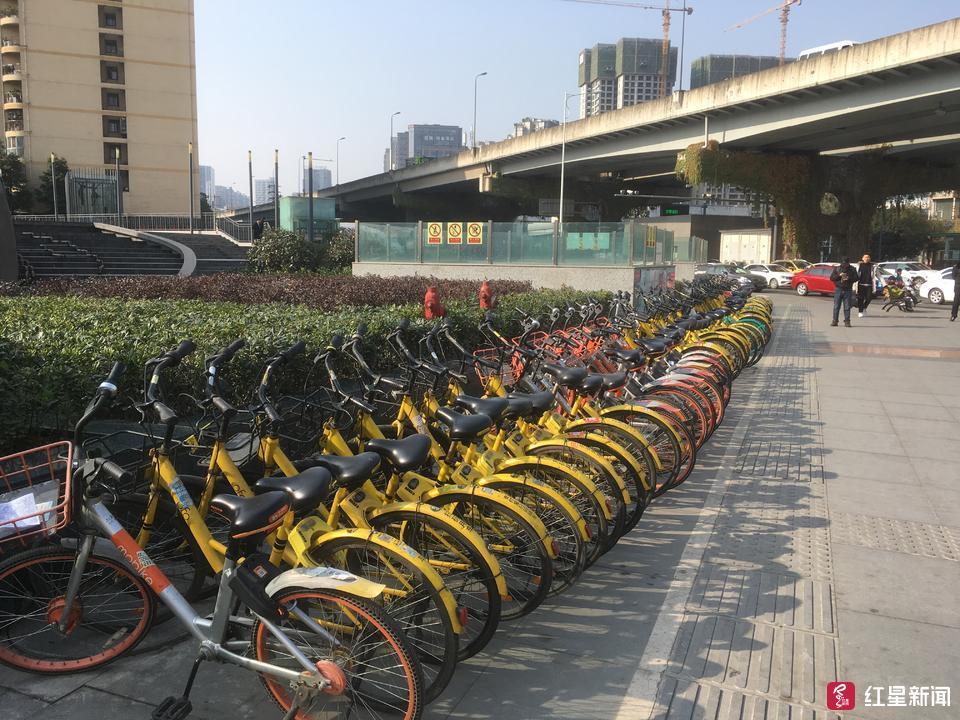 4次集中清理,成都中心城区少了30万辆共享单车!