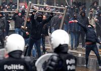 数千比利时人示威 抗议移民问题全球契约