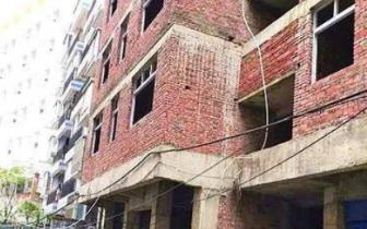 达州男子狂修6层违建房被整栋没收