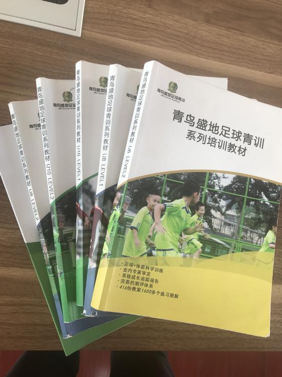 柳州晨耀青训俱乐部参考教材图