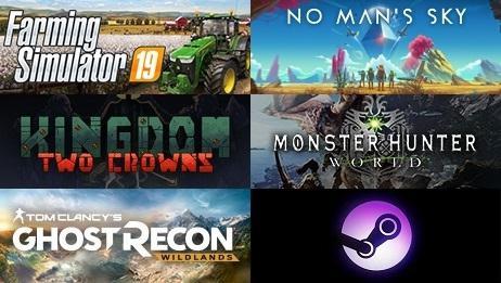 Steam周销量排行榜:《绝地求生》第一 《GTA5》第二
