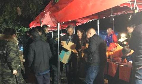 截至12月16日23时10分 宜宾兴文集中转移安置629人