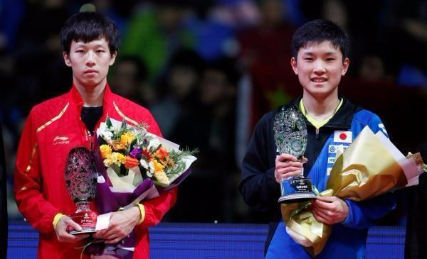国际乒联总决赛 国乒男单输了 日本15岁小将张本智和夺冠