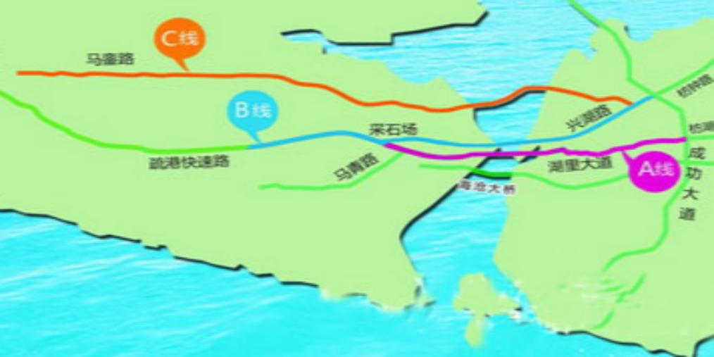 海沧海底隧道预计2020年底通车