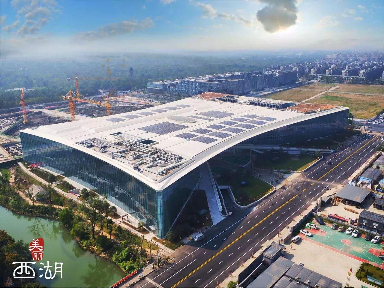 """西湖区文体中心启用 创下多个""""浙江之最"""""""