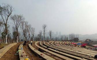 """南充""""印象嘉陵江""""春节前完工 建成后将成江上最美名片"""