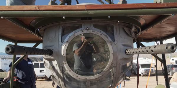 美国军迷最硬核收藏:轰炸机机枪塔