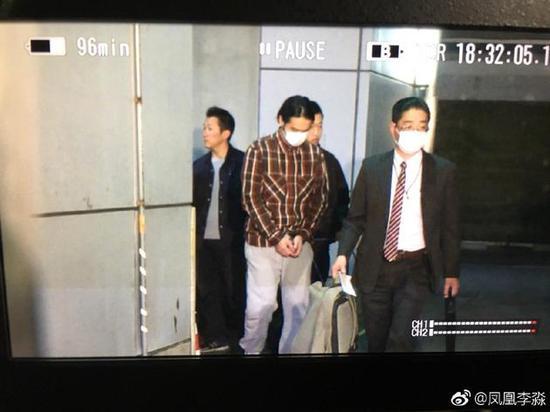 曝蒋劲夫被日本警方再次被逮捕 最长调查20天