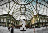 巴黎大皇宫变身溜冰场