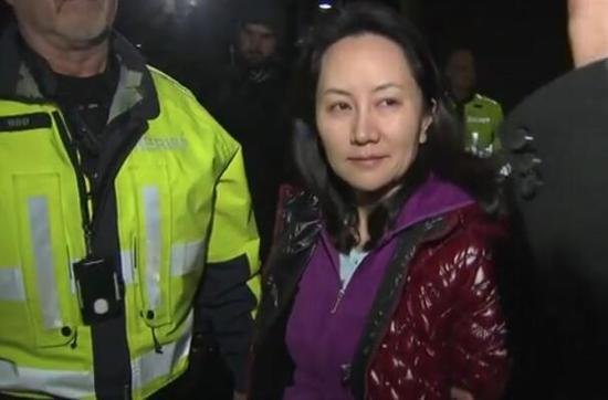 当地时间12月11日下午,孟晚舟获得保释