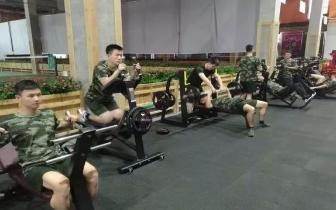 阳明区消防大队积极掀起冬训热潮