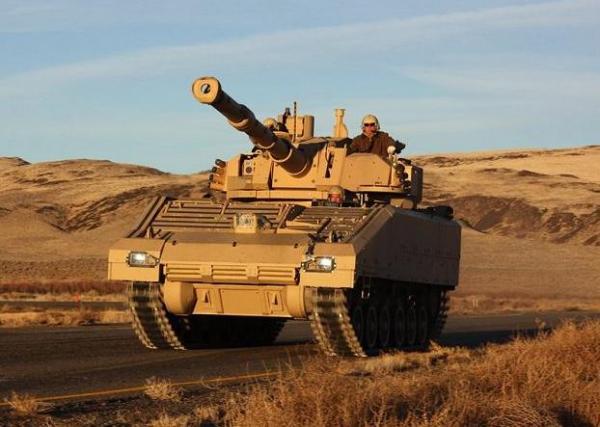 美军新轻坦竞标进入样车制造阶段 单价3000万美元