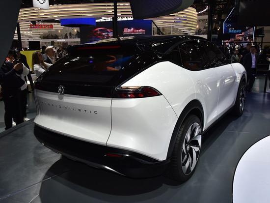2018北京车展亮相的正道K350概念车