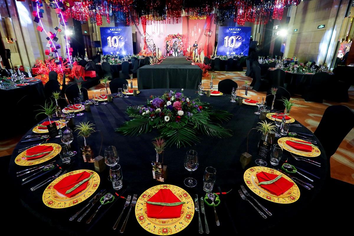 宁波富力索菲特大饭店十周年庆典