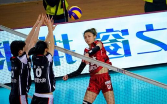 2018—2019女排超级联赛第六轮第27场 河北