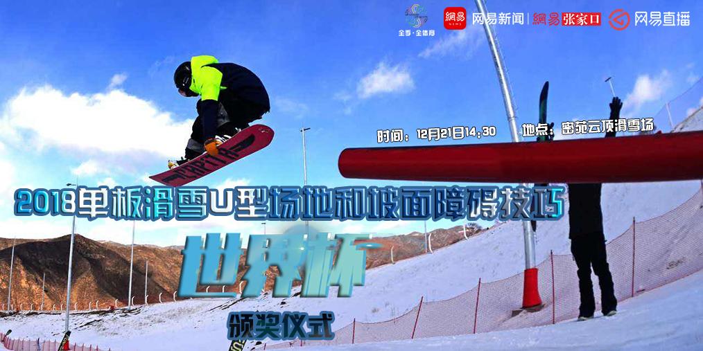 单板滑雪U型场地和坡面障碍技巧世界杯