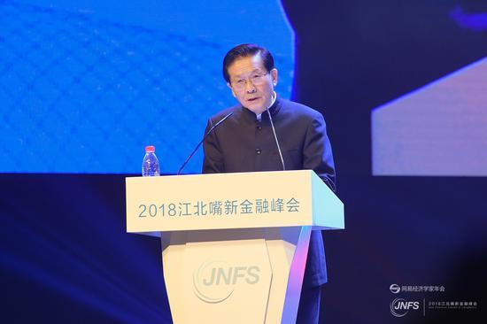 贺铿:中西部要发展需有一个金融中心