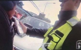 重考科一领证不足半年 资阳雁江男子再酒驾被拘