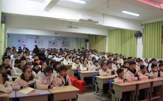湘乡市禁毒办组织开展禁毒宣传进校园活动
