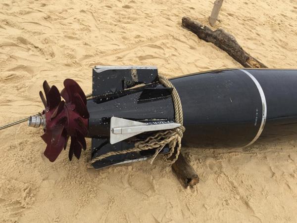 越渔民捞到中国鱼雷 专家:捞走没事 机密不会泄露