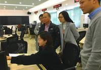 美国加州大学戴维斯分校经济学家胡永泰教授访中大新华