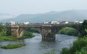 松源镇五星村:五星桥战役旧址