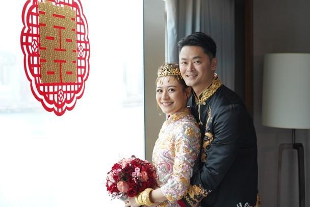 香港女星江若琳嫁