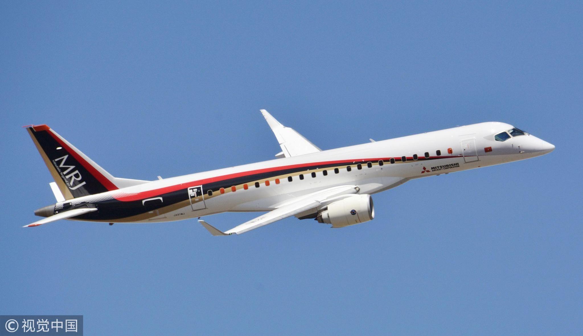 日本将于2019年初实施MRJ飞行测试