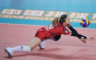中国女排超级联赛第七轮第34场 河北1-3负四