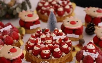 圣诞节就去吃这个 五大IG圣诞造型甜点超梦幻
