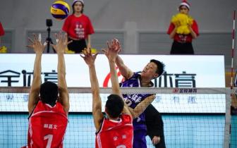 中国男排超级联赛二阶段十轮第64场 河北2:3