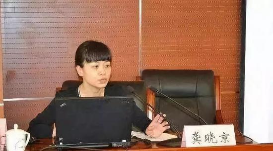 龚晓京(图片来自网络)