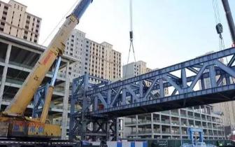 呼市北垣街上今年共规划建设5座人行天桥