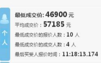降了!深圳最新车牌竞价结果:个人车牌均价57185元